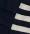 Azul y rayas marinero